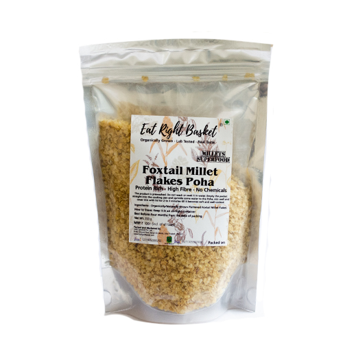 Foxtail millet poha