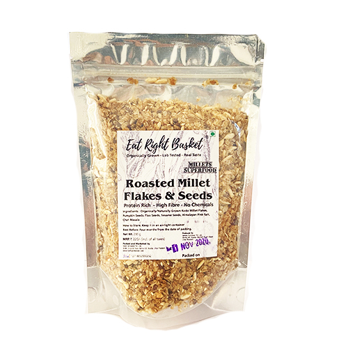 Roasted Millet Flakes