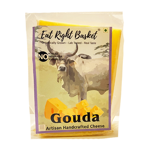Gouda Cheese Front